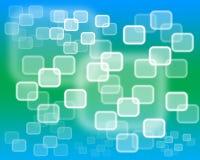 Интерфейс экрана касания Стоковые Изображения