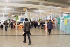 Интерьеры авиапорта Sheremetyevo Стоковые Фотографии RF