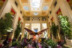 Интерьеры венецианской гостиницы, Лас-Вегас, Невады Стоковое Изображение RF