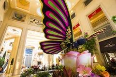 Интерьеры венецианской гостиницы, Лас-Вегас, Невады Стоковые Фотографии RF