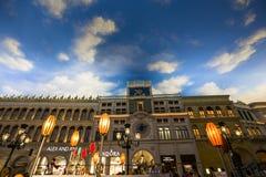 Интерьеры венецианской гостиницы, Лас-Вегас, Невады Стоковые Фото