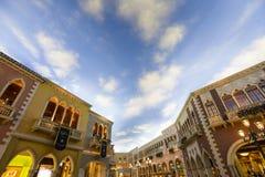 Интерьеры венецианской гостиницы, Лас-Вегас, Невады Стоковая Фотография