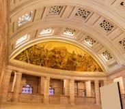 Интерьеры дворца Umaid, Раджастхана Стоковая Фотография