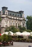 Интерьеры замка и outdoors в Польше Стоковое Изображение