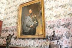 Интерьеры зал в дворце Vorontsov в Alupka, Крыме Стоковые Изображения RF