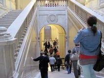 Интерьеры Касы Rosada в городе экскурсии Дома правительства Буэноса-Айрес Аргентины стоковая фотография
