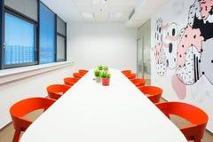Интерьеры офиса созданные архитекторами Kivvi, Братиславой, Словакией Стоковые Фотографии RF
