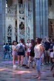 Интерьеры собора StVitus в замке Праги, чехии Стоковое Фото