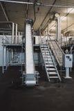 Интерьеры фабрики замороженных продуктов стоковые фото