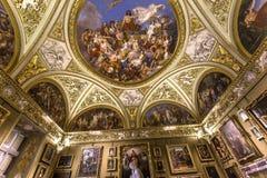 Интерьеры Palazzo Pitti, Флоренса, Италии Стоковое Изображение