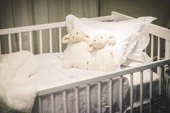 интерьеры s дома ребенка спальни Стоковая Фотография