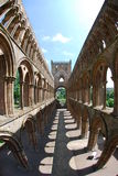 Интерьер аббатства Jedburgh Стоковая Фотография