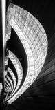 Интерьер авиапорта Дубай стоковая фотография