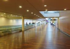 Интерьер авиапорта Копенгагена Стоковая Фотография