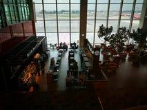 Интерьер авиапорта Сингапура Changi Стоковое Фото