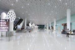 Интерьер авиапорта Шэньчжэня Стоковое Изображение RF