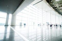 Интерьер авиапорта Стоковая Фотография RF