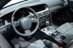 интерьер автомобиля стоковое изображение