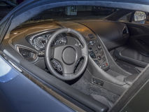 Интерьер автомобиля спорт Стоковое Изображение RF