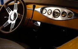 интерьер античного автомобиля Стоковые Изображения RF