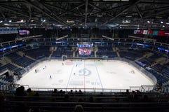Интерьер арены льда VTB Стоковая Фотография