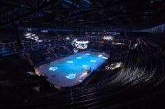 Интерьер арены льда VTB Стоковое Изображение