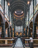 Интерьер базилики St Nicholas в Амстердаме, Нидерландах Стоковое Фото