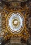 Интерьер базилики St Peter, Ватикан Стоковое Изображение RF