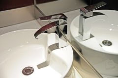 Интерьер ванной комнаты гостиницы Стоковая Фотография RF
