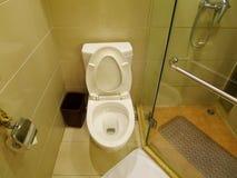 Интерьер ванной комнаты гостиницы Стоковая Фотография