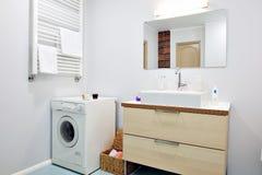 интерьер ванной комнаты Стоковая Фотография