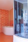 интерьер ванной комнаты Стоковое Изображение RF