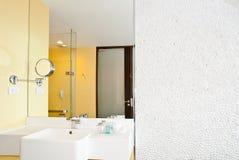 Интерьер ванной комнаты Стоковое Фото