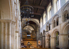 Интерьер двенадцатого века замка Rochester Замок и руины городищ Кент, юговосточная Англия Стоковые Изображения