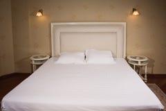 Интерьер винтажной спальни стиля Стоковое Изображение RF