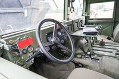 Интерьер военного транспортного средства Стоковые Изображения