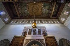 Интерьер дворца Бахи Стоковые Фото