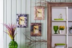 Интерьер в провансальском стиле: мебель и оформление Стоковые Изображения RF
