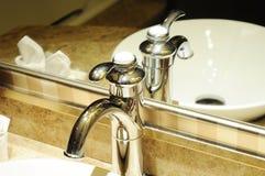 интерьер гостиницы ванной комнаты Стоковое фото RF