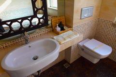 интерьер гостиницы ванной комнаты Стоковое Изображение RF