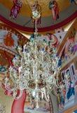 Интерьер греческого правоверного монастыря 12 апостолов Стоковое фото RF