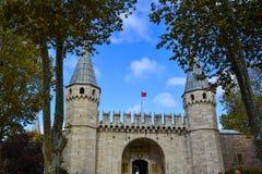 Интерьер дворца Топкапы в Стамбуле, Турции стоковое изображение