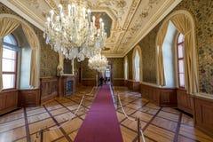 Интерьер дворца Waldstein Стоковое Изображение RF