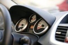 интерьер детали автомобиля стоковое изображение rf