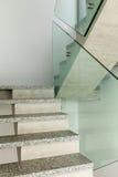 Интерьер, лестница гранита Стоковое фото RF