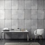Интерьер живущей комнаты с бетонной стеной, переводом 3D иллюстрация штока