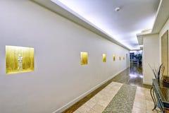Интерьер залы Стоковая Фотография