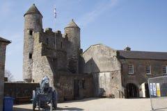 Интерьер замка Enniskillen стоковое фото rf