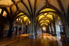 Интерьер замка Meissen Стоковые Фото