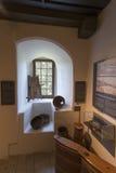 Интерьер замка Spiez, Швейцарии Стоковые Изображения RF
